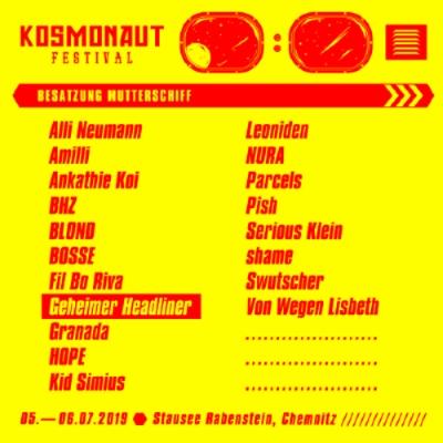 Kosmonaut 2019